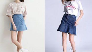 cách mix chân váy 2017