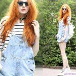 9 công thức tuyệt vời phối đồ với quần yếm Jeans bạn có thể thử