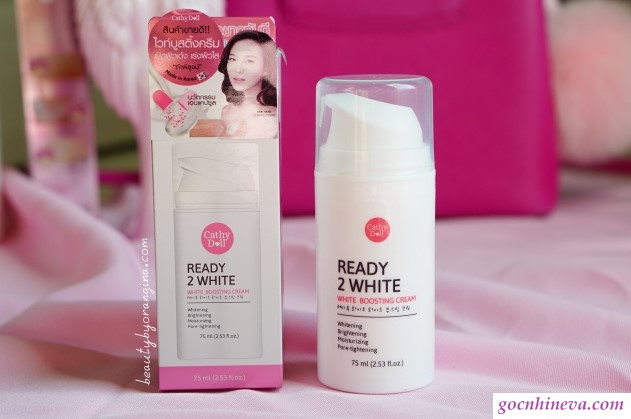Cathy Doll Ready 2 White Boosting Cream