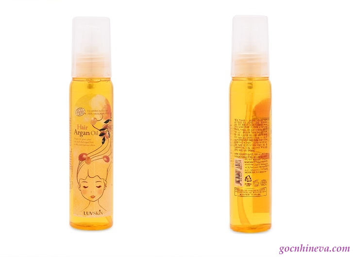 Luvskin Hair Argan Oil