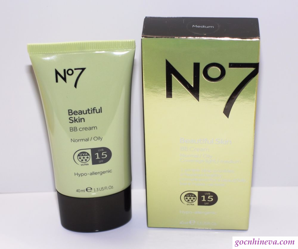 Kem nền No7 Beautiful Skin BB Cream for Normal/ Dry skin