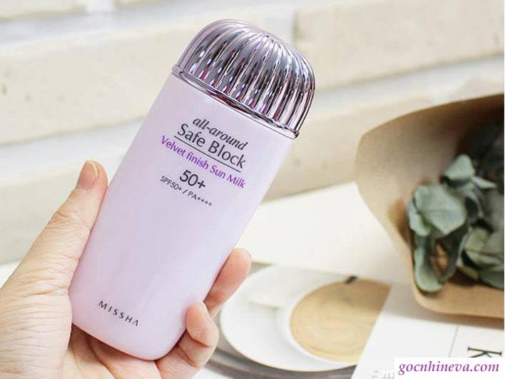 Missha All-Around Safe Block Soft Finish Sun Milk SPF 50+