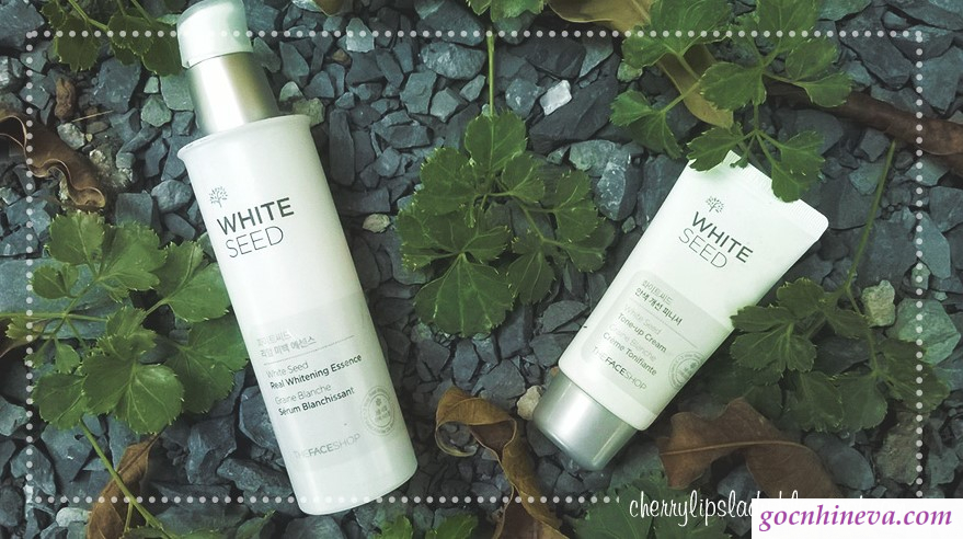 White Seed Real Whitening essence and finisher set