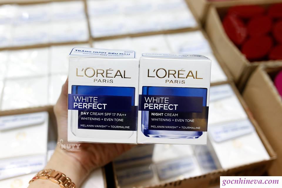 kem dưỡng da Loreal White Perfect có tốt không