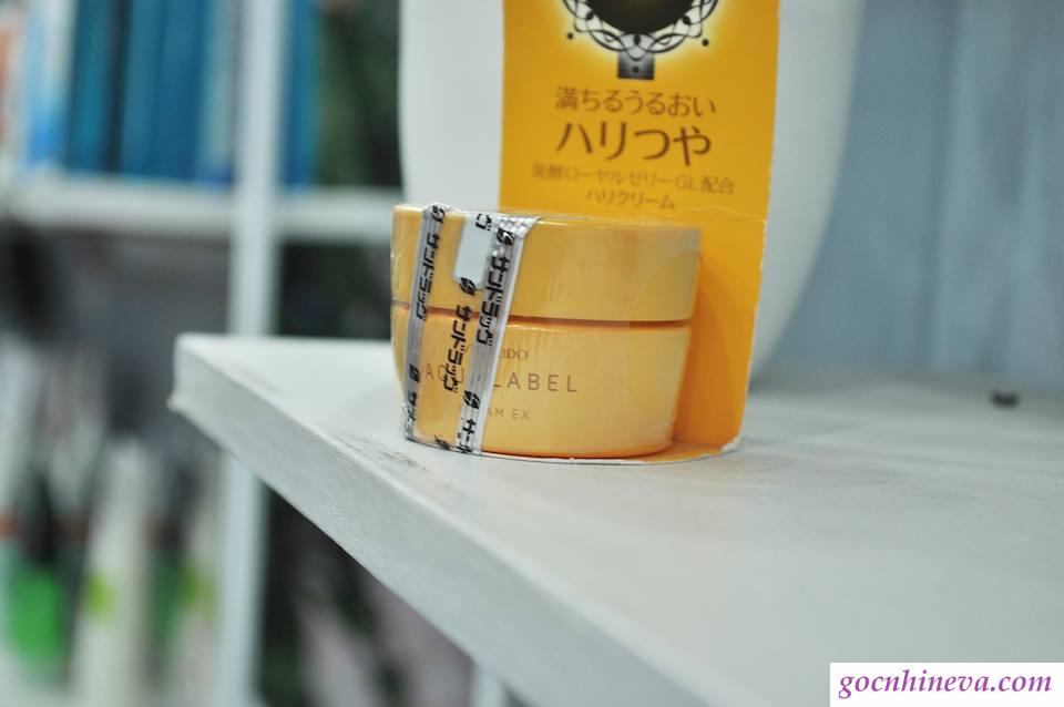 Kem dưỡng da Shiseido Aqualabel Cream Ex