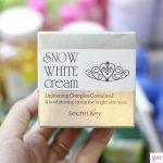 Kem dưỡng da Snow White Cream và một số thông tin về sản phẩm