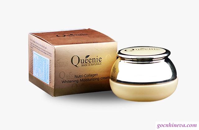 Kem dưỡng trắng Queenie Nutri Collagen Whitening Moisturizing