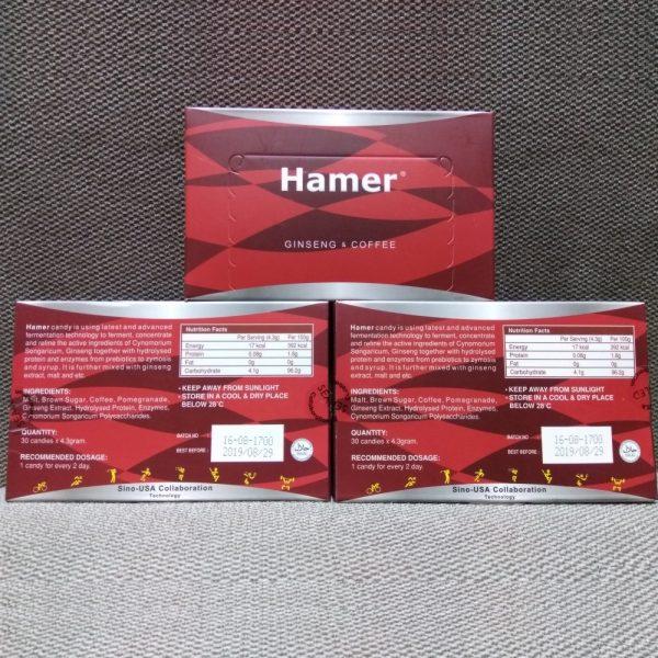 Kẹo sâm Hamer Review