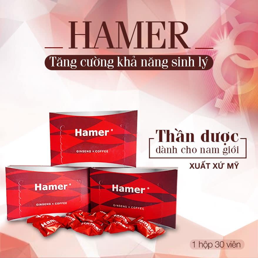 Kẹo sâm Hamer chính hãng Malaysia