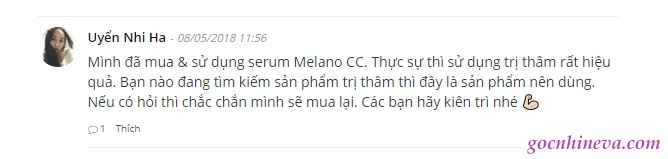review Melano CC