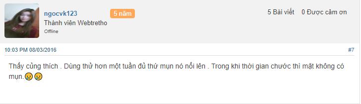 nhận xét Kem White Face Thái Lan có tốt không