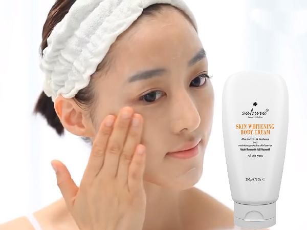 Kem Dưỡng Trắng Da Toàn Thân Sakura Body Whitening Cream