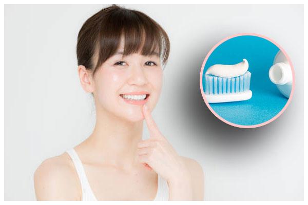 Dùng kem đánh răng để trị mụn đầu đen