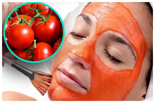 Dùng cà chua để trị mụn đầu đen trên mũi
