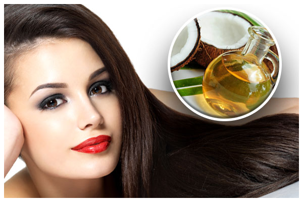 Trị tóc bạc sớm bằng dầu dừa