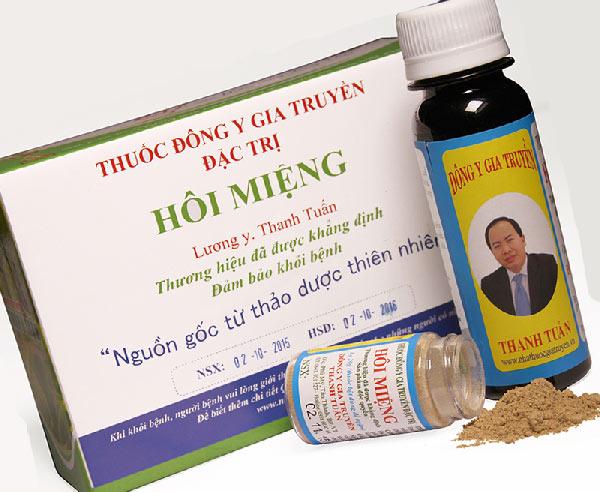 Thuốc điều trị hôi miệng Đông y Thanh Tuấn