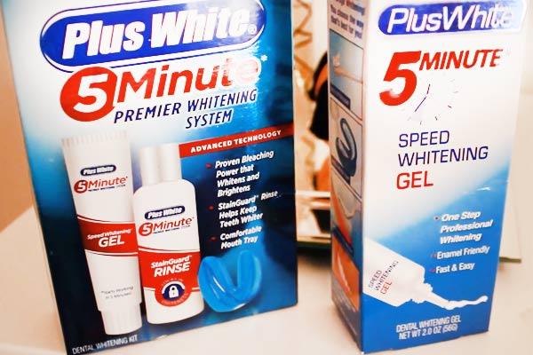 Kem tẩy trắng răng Plus White