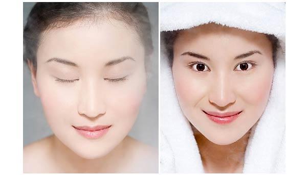 xông hơi mặt gây ảnh hưởng cho da nếu lạm dụng