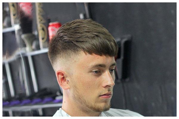 Kiểu tóc Modern Side Part