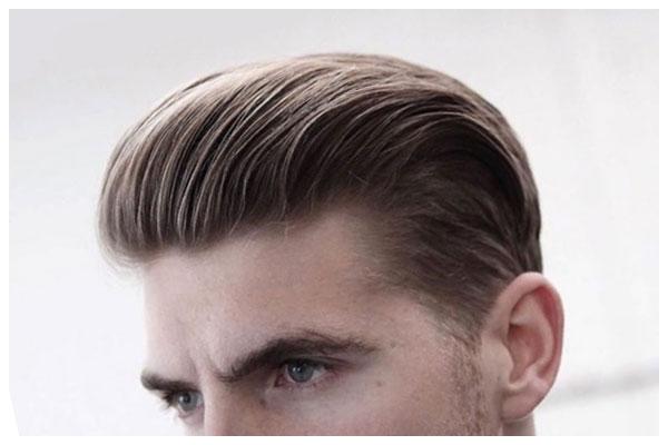 Kiểu tóc ngắn Undercut vuốt dựng