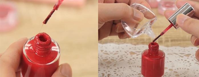 Sử dụng dung dịch làm loãng móng tay sẽ đem lại lợi ích trong nhiều trường hợp