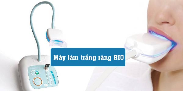 Máy làm trắng răng RIO