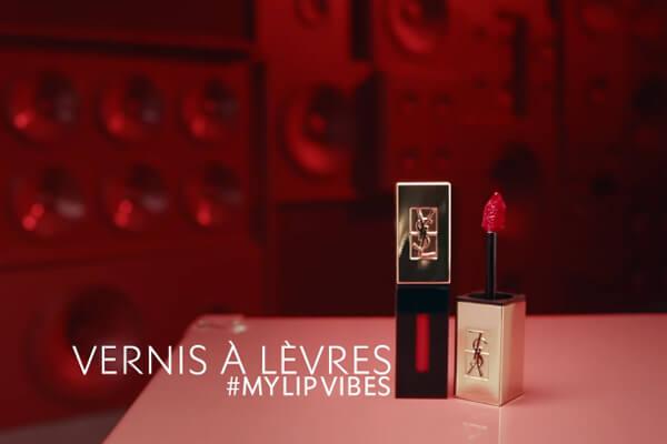 Son YSL Vernis À Lèvres Red Vibes Edition