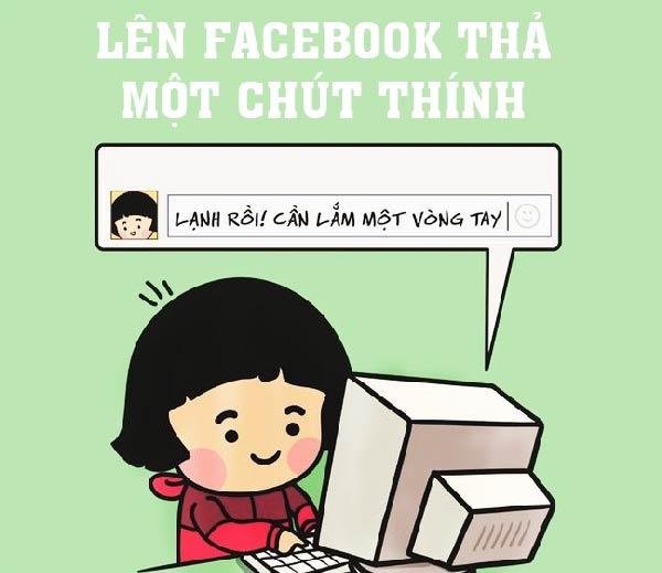 thả thính trên facebook