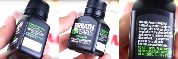 Thuốc điều trị hôi miệng Breath Pearls