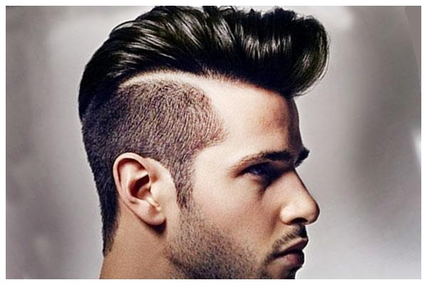 Kiểu tóc nam ngắn Pompadour