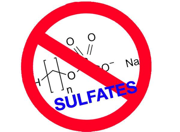 tránh các sản phẩm chứa sulfate