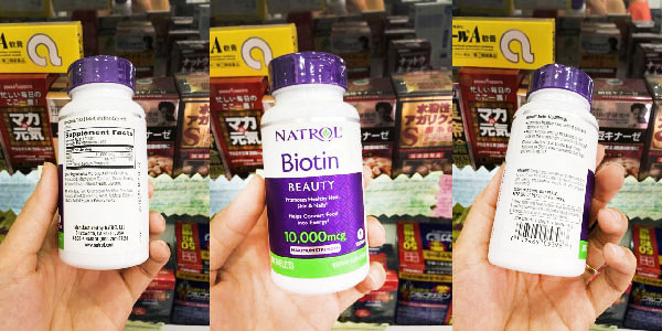 Thuốc trị rụng tóc biotin
