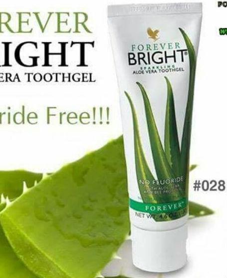 Kem đánh răng lô hội Forever Bright Toothgel