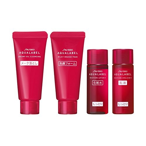 Shiseido aqualabel đỏ review
