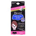 Miếng dán lột mụn Biore: vì trong thành phần có chứa glycerin nên em nó có thể vừa giúp giảm mụn đầu đen