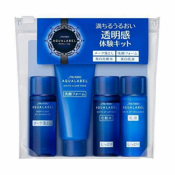 Bộ sản phẩm Aqualabel xanh gồm 4 sản phẩm