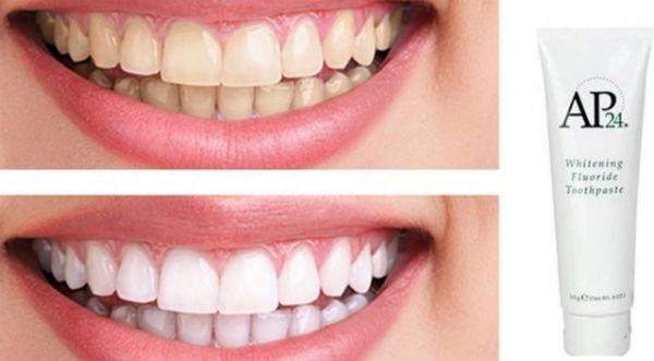 sử dụng kem đánh răng trắng răng