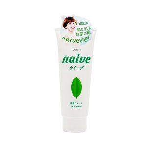Sữa rửa mặt trà xanh Naive Face Wash