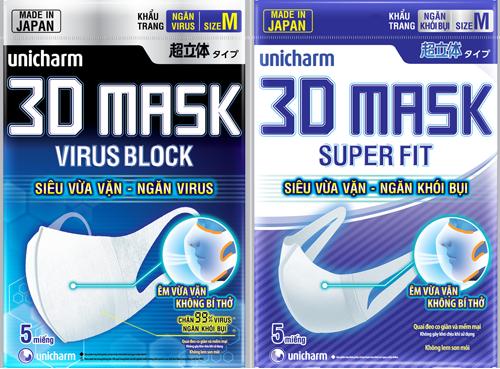 Khẩu trang y tế nhật bản Unicharm
