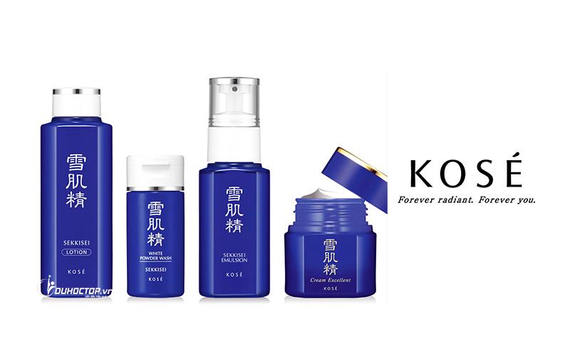 Giới thiệu về hãng mỹ phẩm Kose