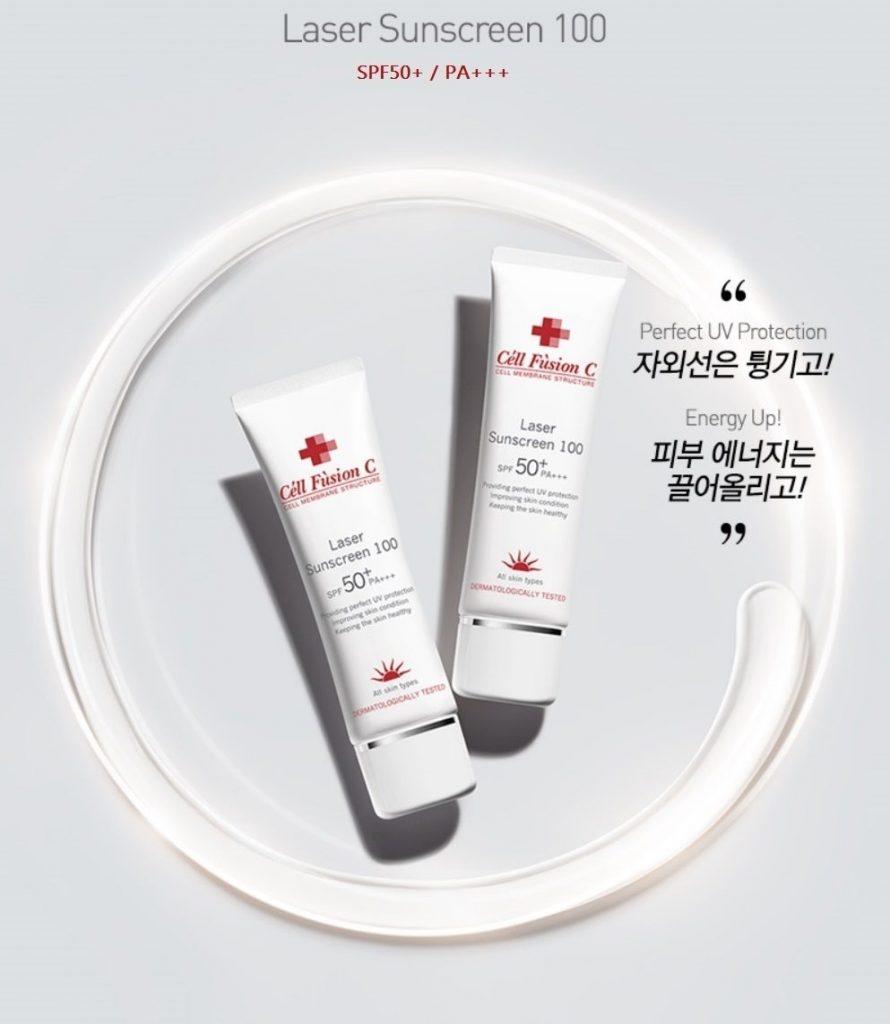 Một số thông tin về sản phẩm kem chống nắng cell fusion C Hàn Quốc