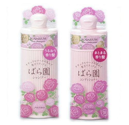 Sữa tắm Shiseido Rosarium.
