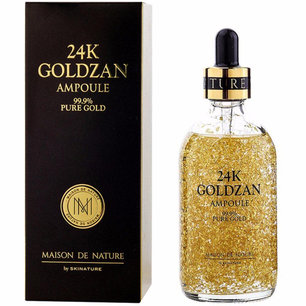 Mặt nạ collagen vàng 24k, chai lớn 200ml