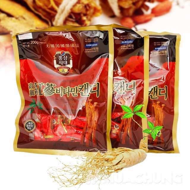 Kẹo hồng sâm Hàn Quốc 200g
