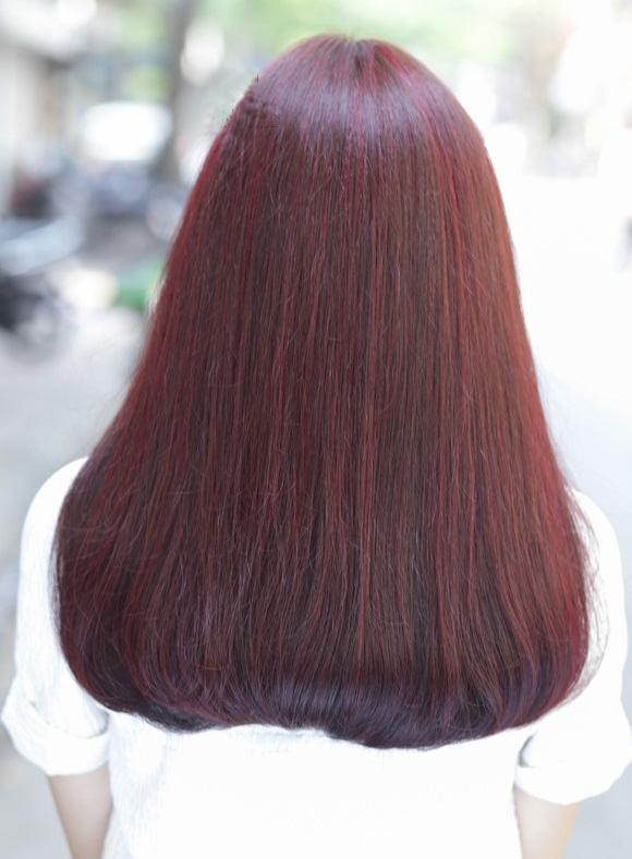 Màu nâu đỏ rượu vang Bordeaux
