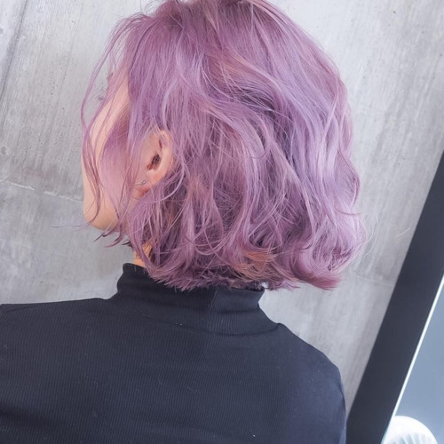 Màu tím pastel