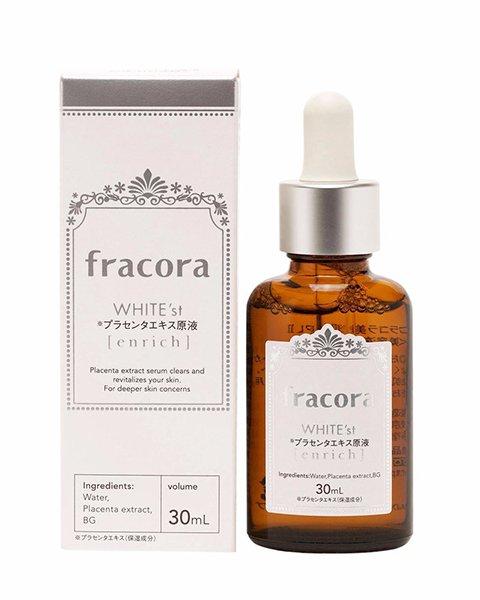 Serum trắng da, trị nám tàn nhang Fracora White'st Enrich 30ml của Nhật Bản