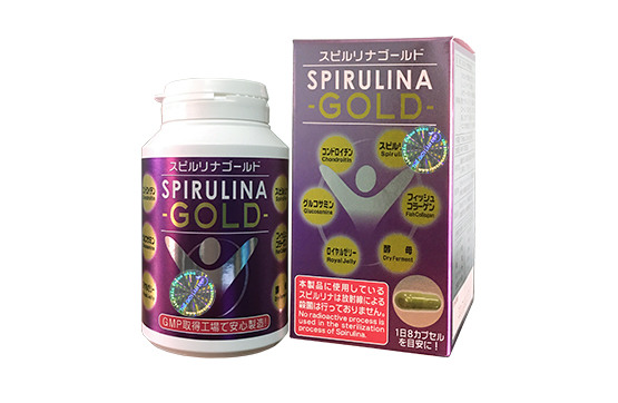 Tảo lục Nhật Bản Spirulina Gold