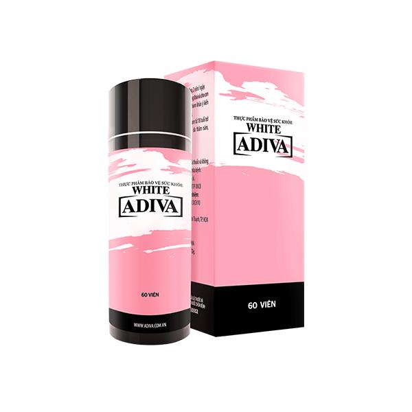 White collagen Adiva dạng viên