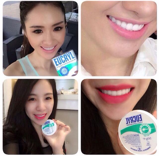 Những câu hỏi thường gặp về bột trắng răng eucryl